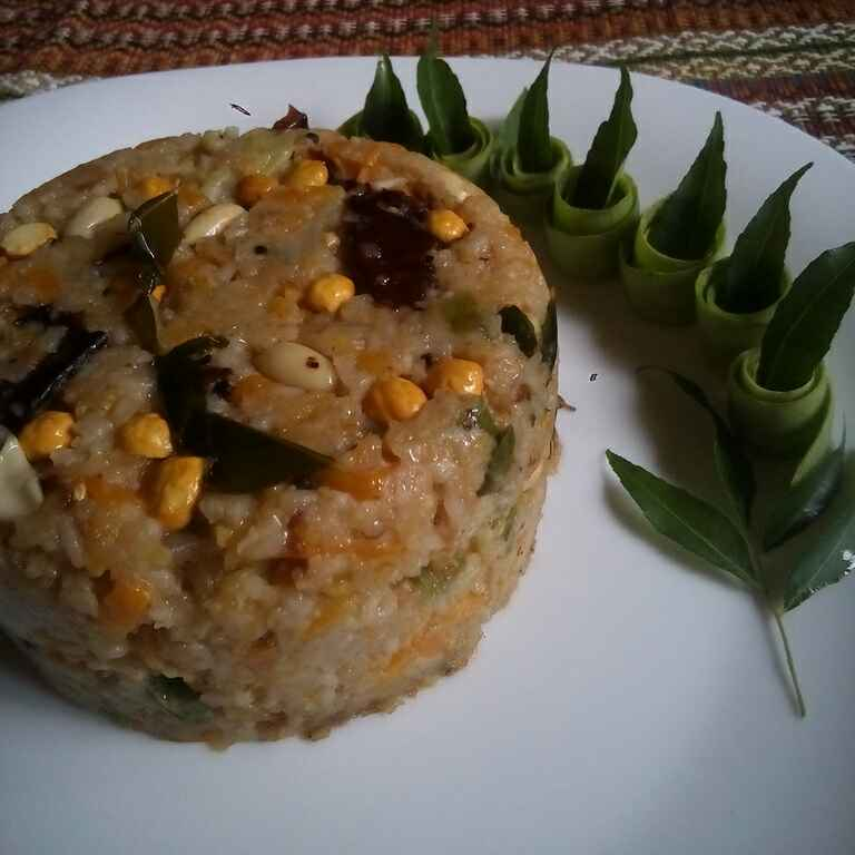 How to make রাইস উপমা