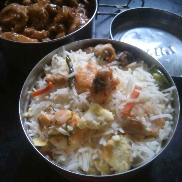 Photo of Mixed fried rice by শংকরী পাঠক at BetterButter