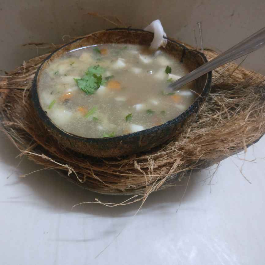 How to make TENDERCOCONUT healthy soup