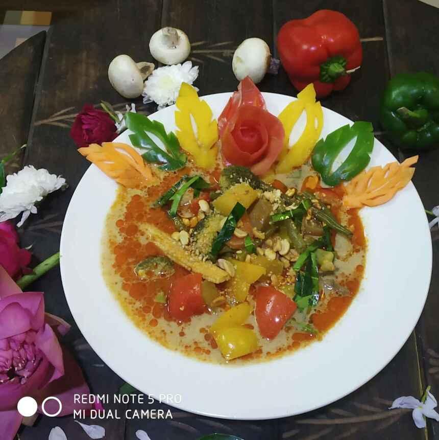 Photo of Veg Thai Red Penang Curry by শম্পা ডি ব্যানার্জী at BetterButter