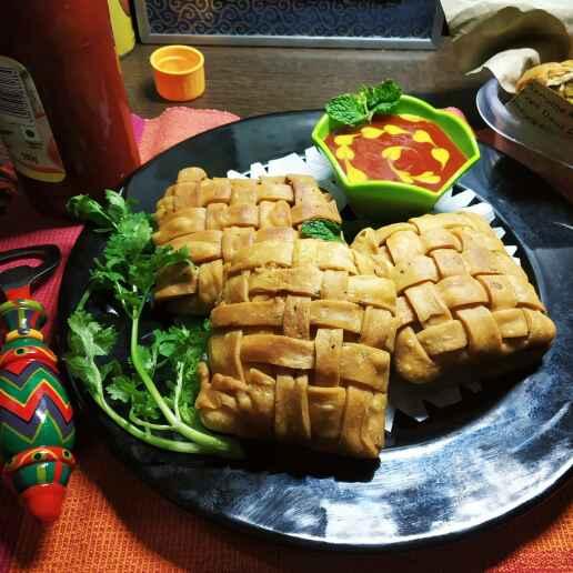 How to make Basket Samosa