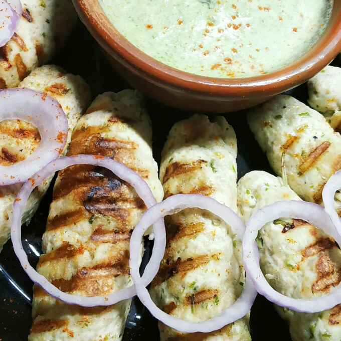 Photo of Grilled chicken Sik kabab by শম্পা ডি ব্যানার্জী at BetterButter
