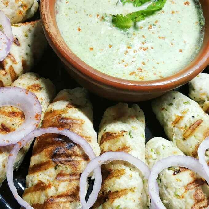 Photo of Grilled Chicken Shik Kabab by শম্পা ডি ব্যানার্জী at BetterButter