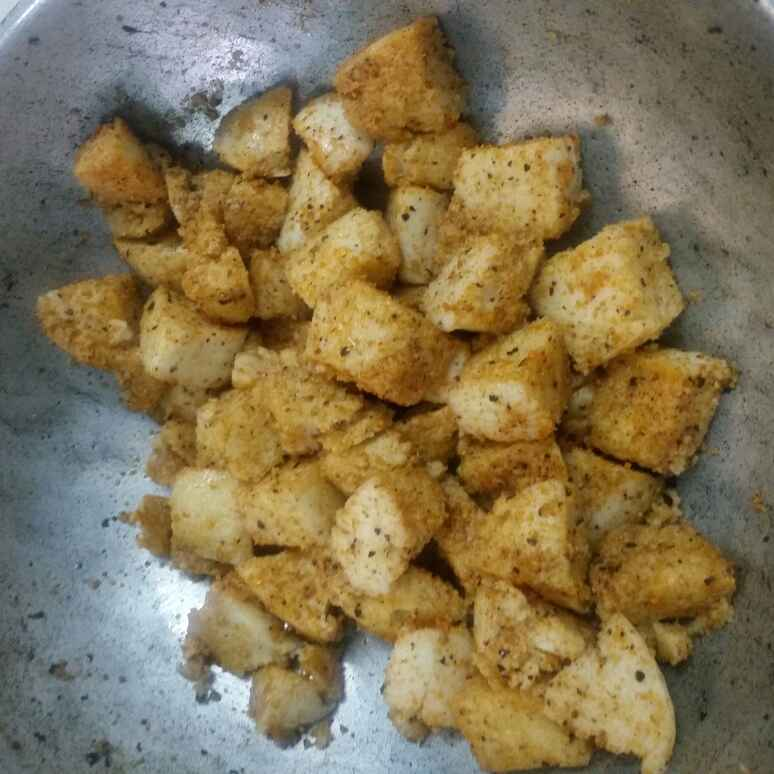 How to make Healthy millet idli fry