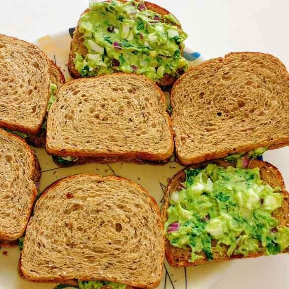 Photo of Guacamole egg sandwich by পায়েল সাহা at BetterButter