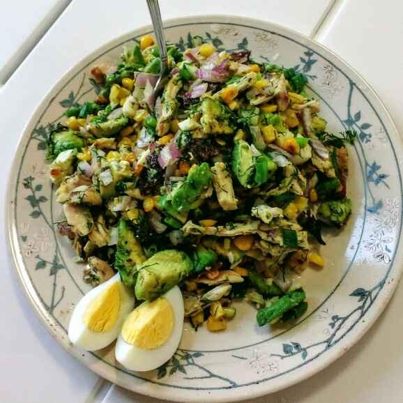 Photo of Avocado Chicken Salad by পায়েল সাহা at BetterButter