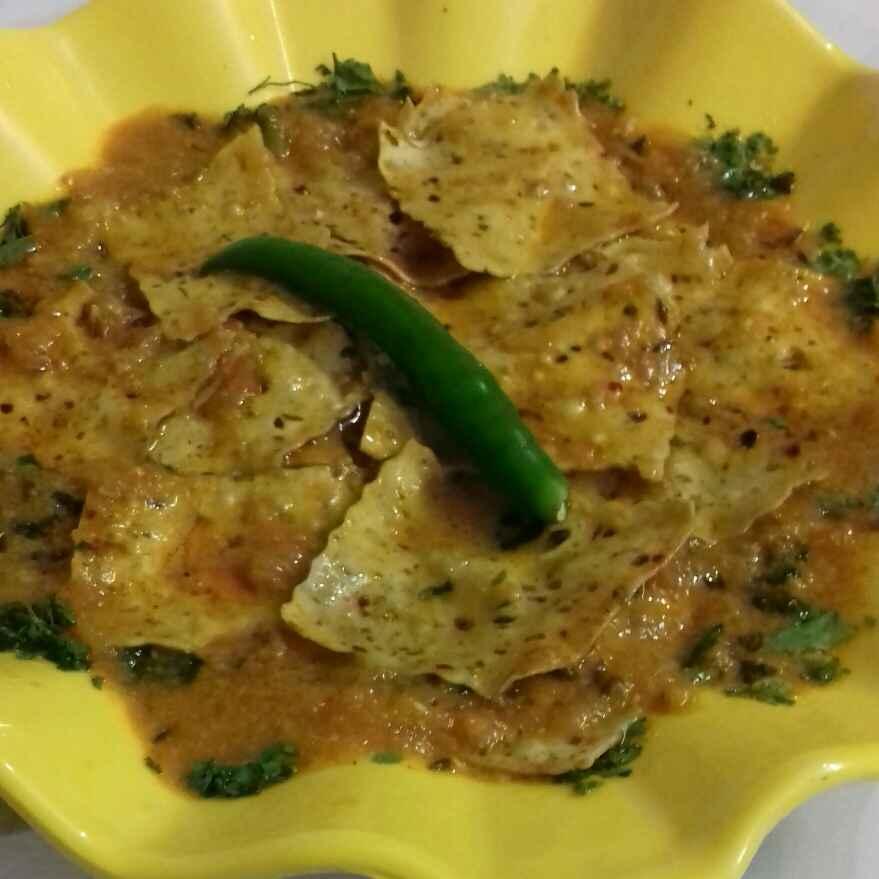How to make Papad ki sabji