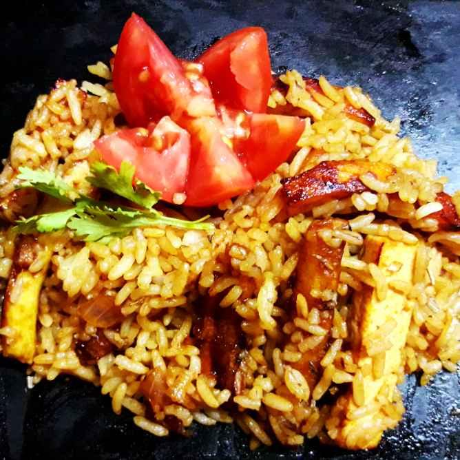 Photo of Chotpota paneer potato rice by সোমা ভট্টাচার্য at BetterButter