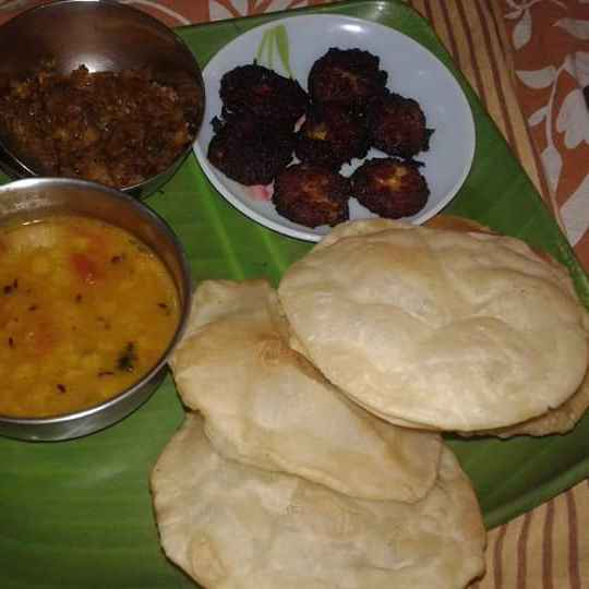 How to make লুচি