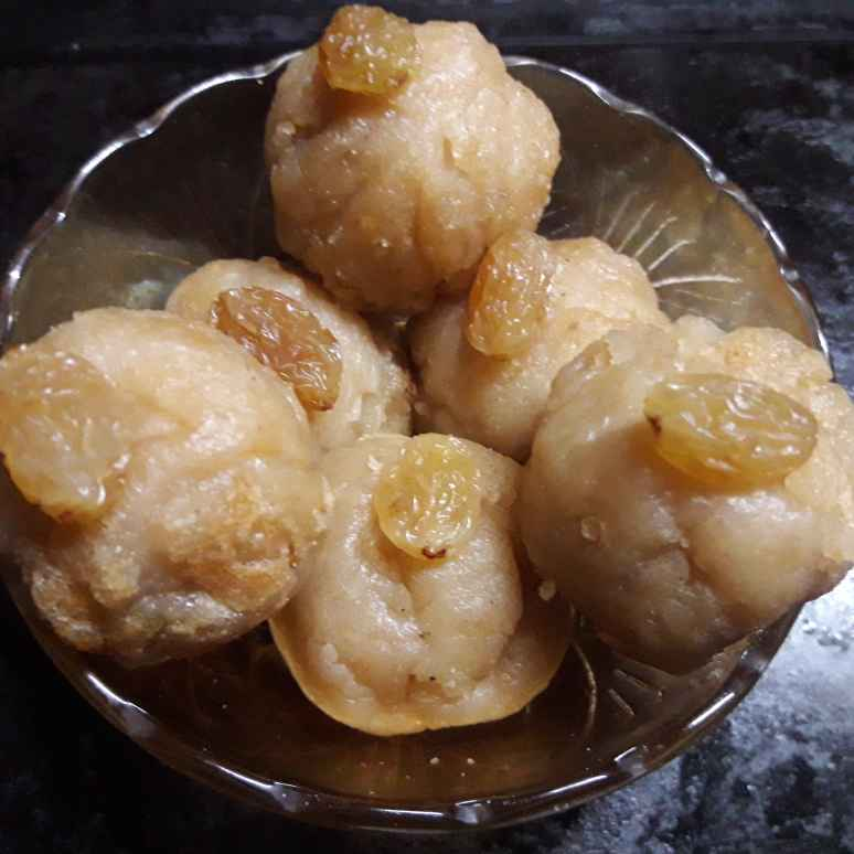 How to make আটার লাড্ডু