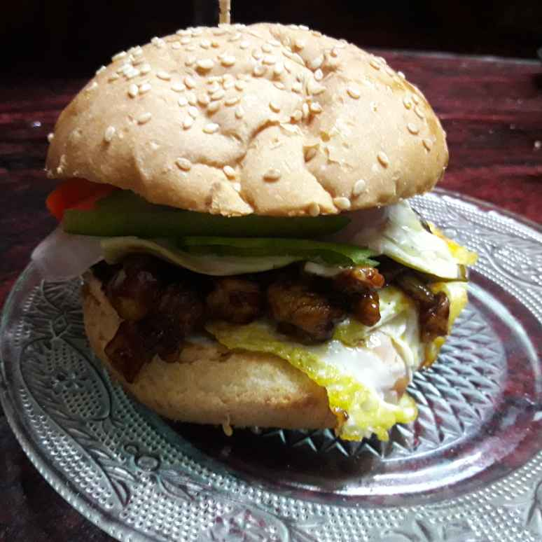 Photo of CHICKEN burger by সোমা ভট্টাচার্য at BetterButter