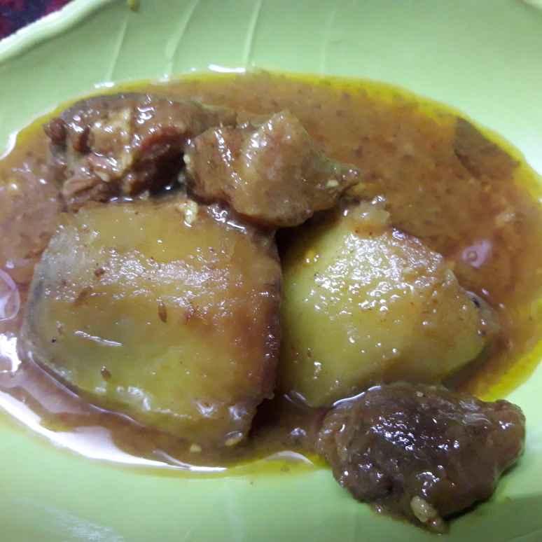 Photo of Mutton curry by সোমা ভট্টাচার্য at BetterButter