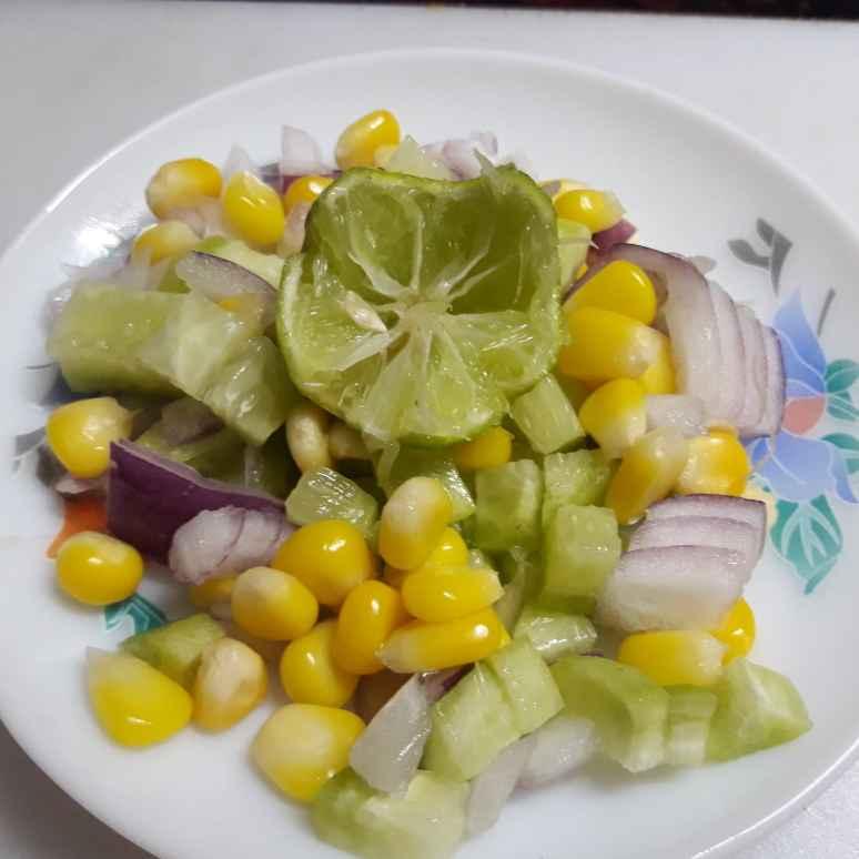 Photo of Corn salad by সোমা ভট্টাচার্য at BetterButter