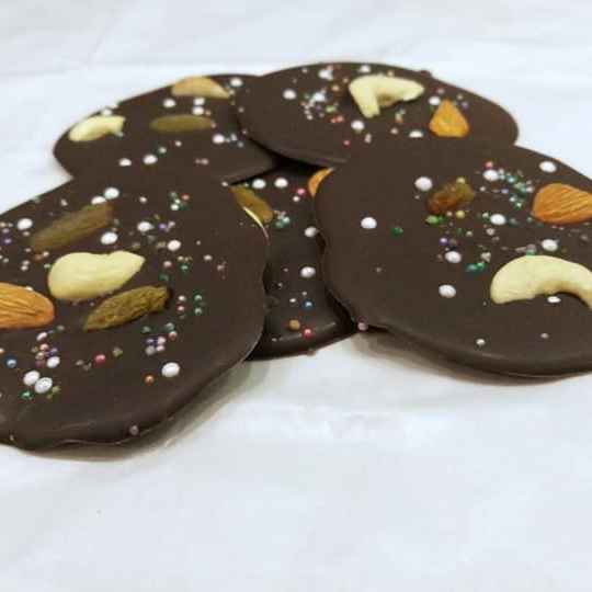 Photo of French meridians chocolate by সোমা ভট্টাচার্য at BetterButter