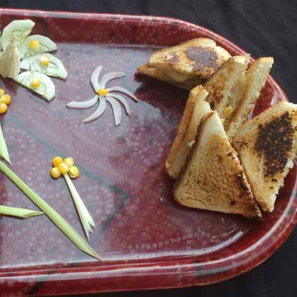 Photo of Potato corn sanwich by সুসমিতা ঘোষ at BetterButter