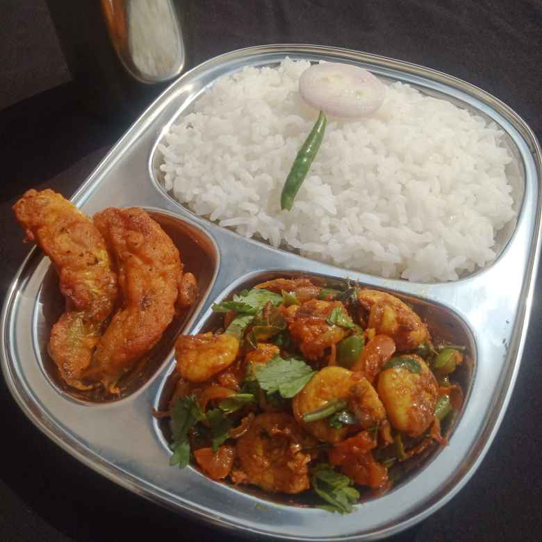 Photo of Spicy capsicum prawn fry by সুসমিতা ঘোষ at BetterButter
