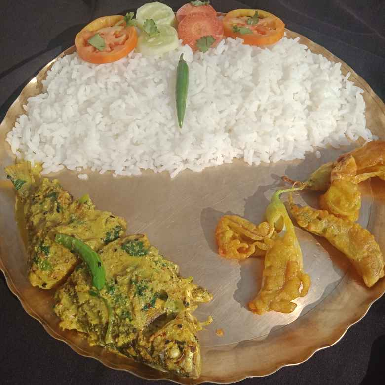 Photo of Barb fish curry with mustard powder by সুসমিতা ঘোষ at BetterButter