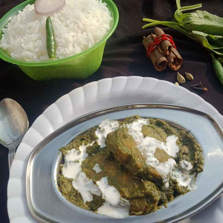 Photo of Spinach katla by সুসমিতা ঘোষ at BetterButter