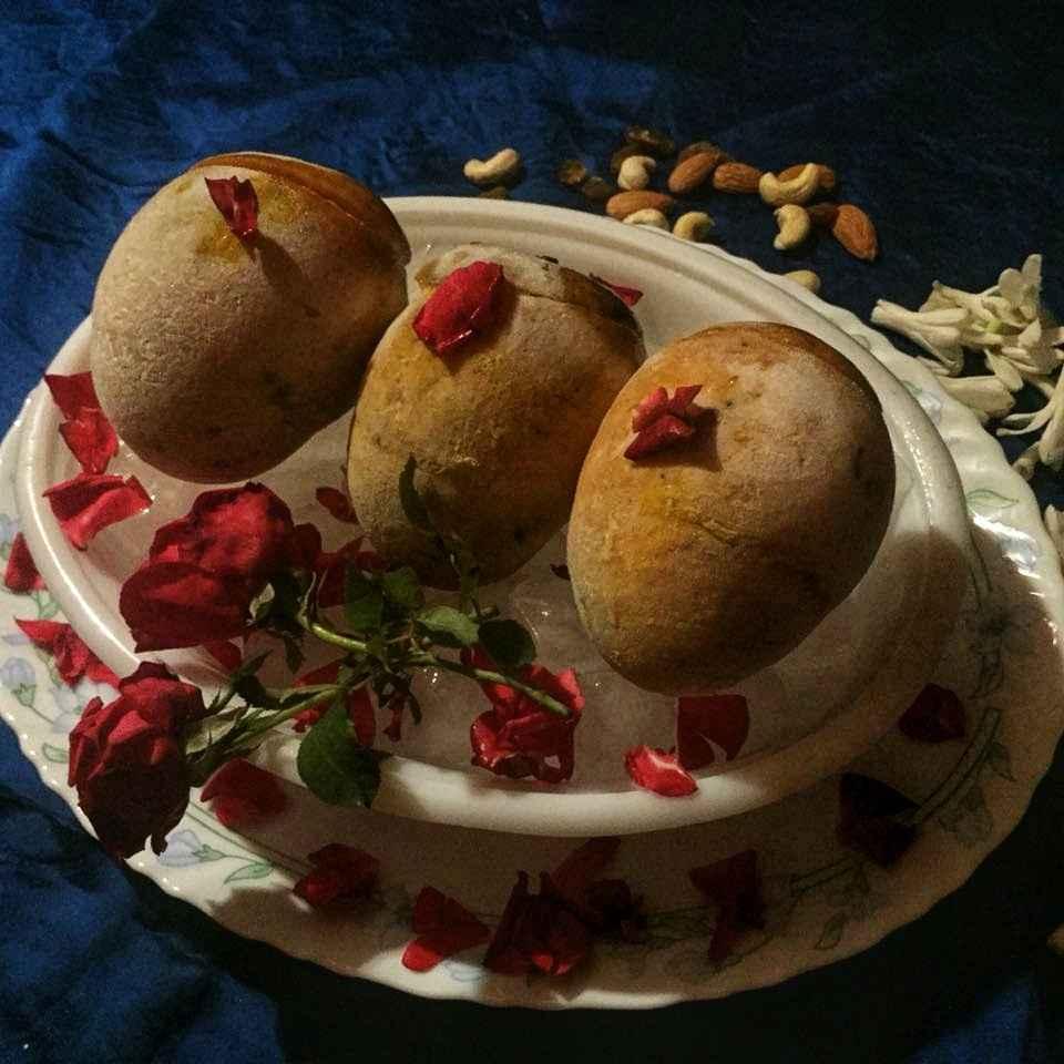 Photo of Mango kulfi with mango sauce by Debjani Dutta at BetterButter
