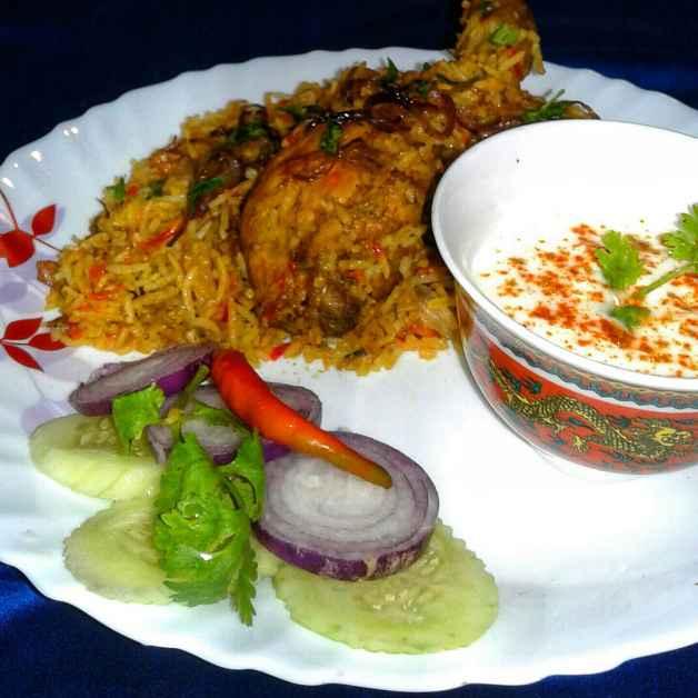 Photo of Hyderabadi Nawabi Dum Biryani by Debjani Dutta at BetterButter
