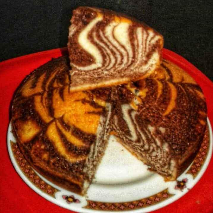 Photo of Zebra cake by Debjani Dutta at BetterButter