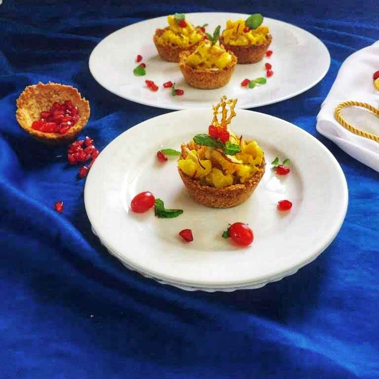 Photo of Zafrani pasta tart by Debjani Dutta at BetterButter