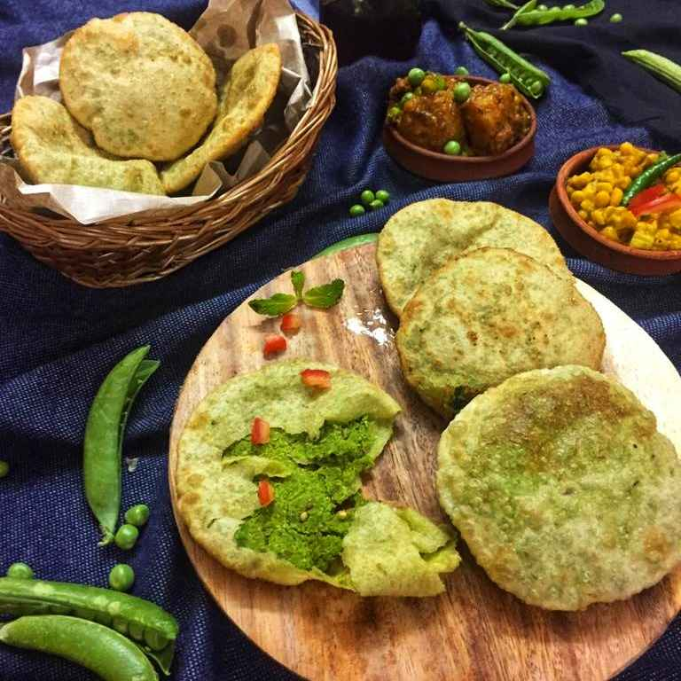 How to make Peas kachori (in Bengali style)
