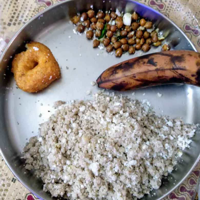 Photo of Samba rice puttu, vadai, sundal by Dhanalakshmi Sivaramakrishnan at BetterButter