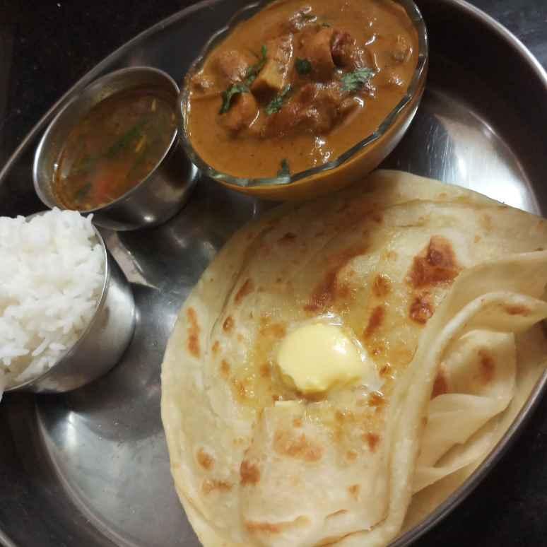 Photo of Parotta & mushroom kulambu by சாந்தி பாலசுப்ரமணியம் சாந்திபாலசுப்ரமணியம் at BetterButter