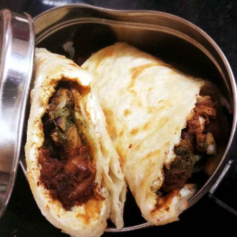 Photo of Chicken tandoori frankie by சாந்தி பாலசுப்ரமணியம் சாந்திபாலசுப்ரமணியம் at BetterButter