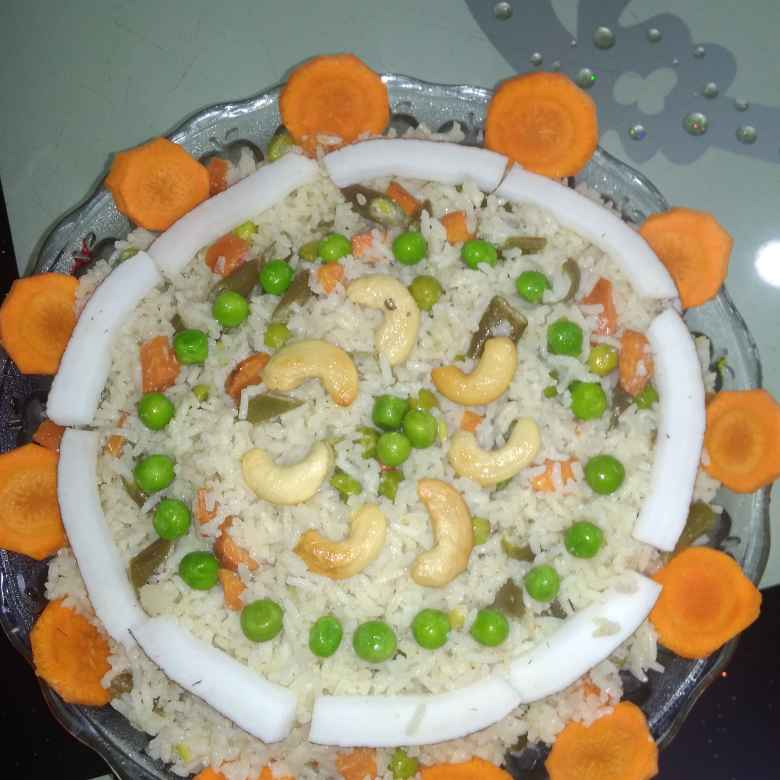 Photo of Coconut rice. by దూసి గీత at BetterButter