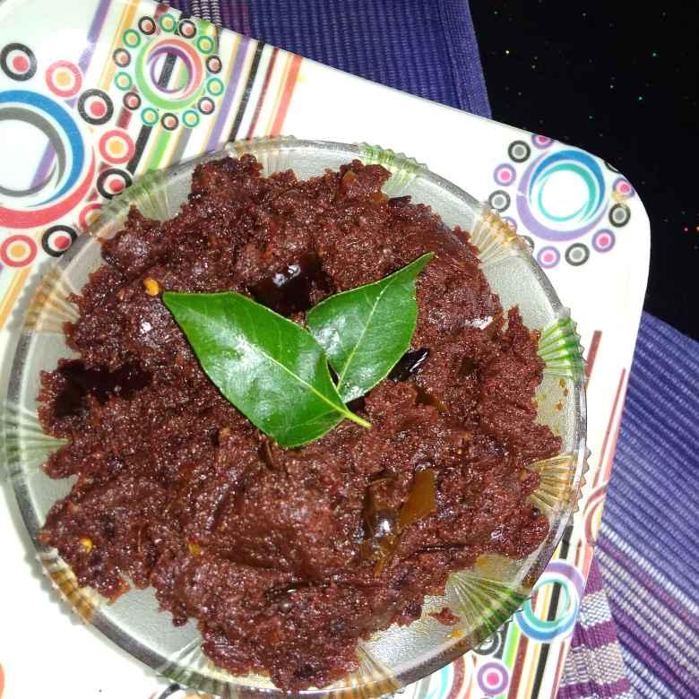 How to make టమాటా నిల్వ పచ్చడి.