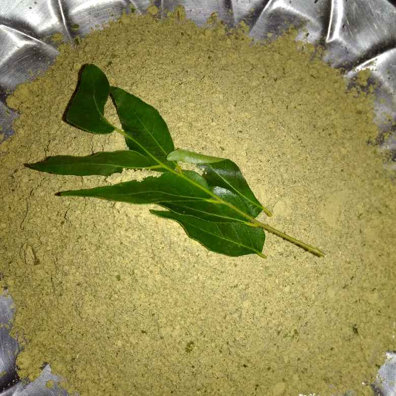 How to make కరివేపాకు పొడి.