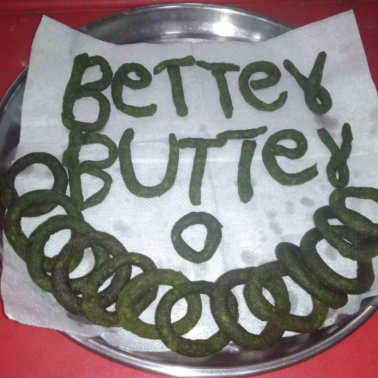 Photo of Palak rings. by దూసి గీత at BetterButter