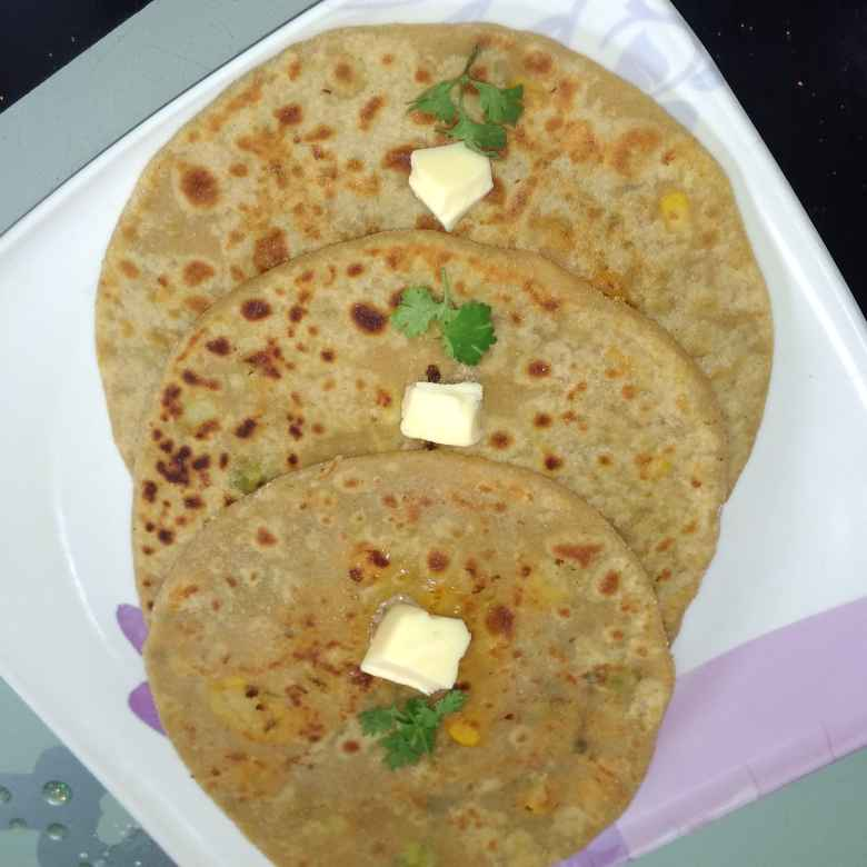 Photo of Mixed veg parota by దూసి గీత at BetterButter