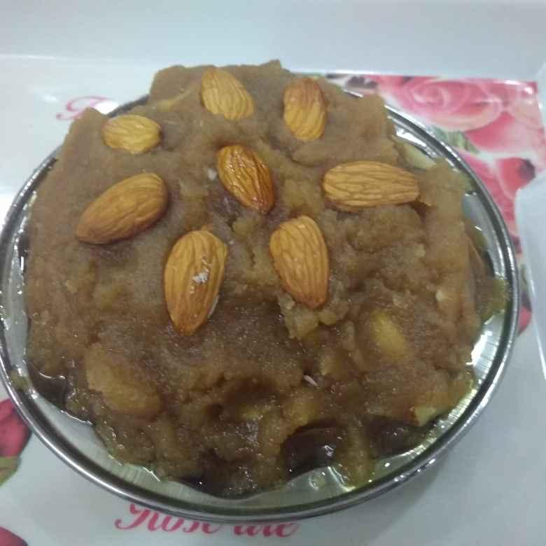 Photo of Atte ka halwa(kada prasad) by దూసి గీత at BetterButter