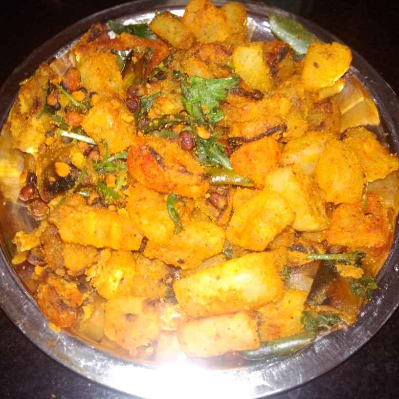 Photo of Besan,radish curry. by దూసి గీత at BetterButter