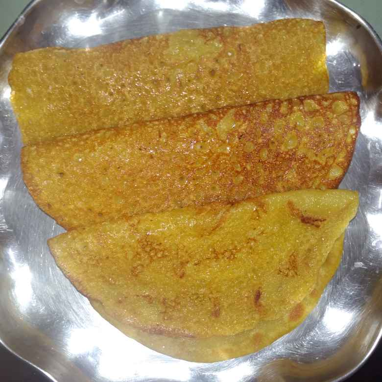 Photo of Wheat flour sweet dosa  by దూసి గీత at BetterButter