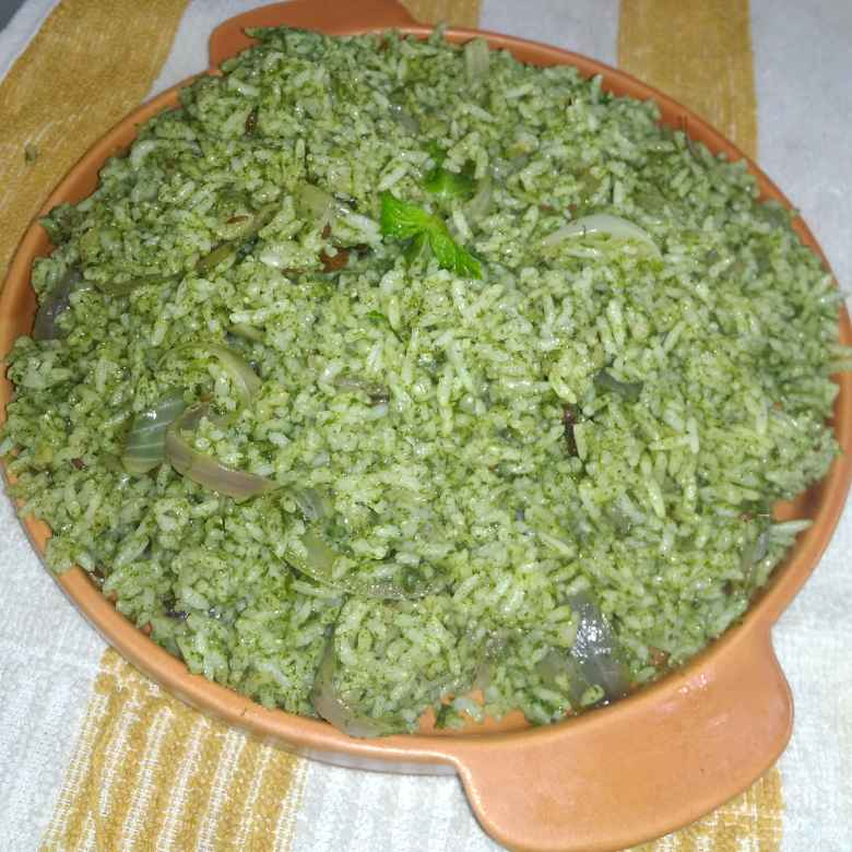 Photo of Coriander rice by దూసి గీత at BetterButter