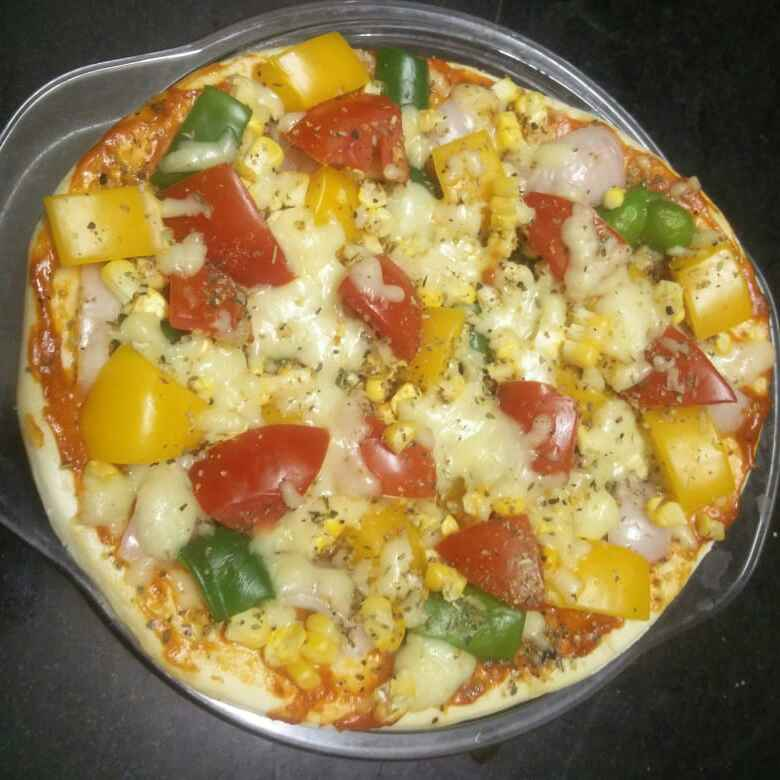 Photo of VEG pizza by ప్రశాంతి మారం at BetterButter