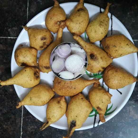 How to make వంకాయ మసాలా బజ్జి