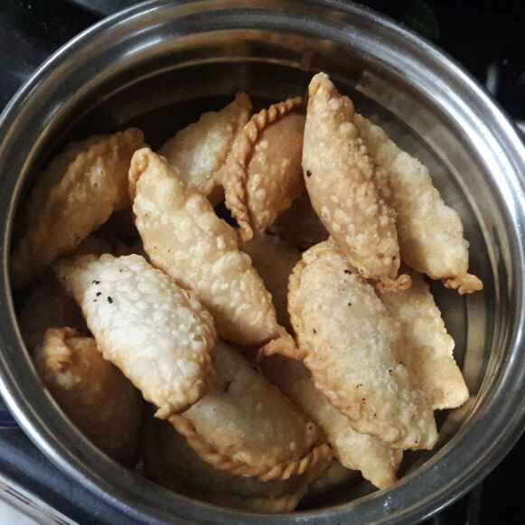 Photo of Sesame seeds gujiya  by ప్రశాంతి మారం at BetterButter