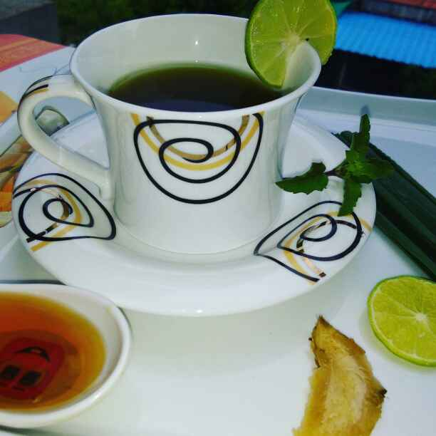 How to make Lemon grass tea