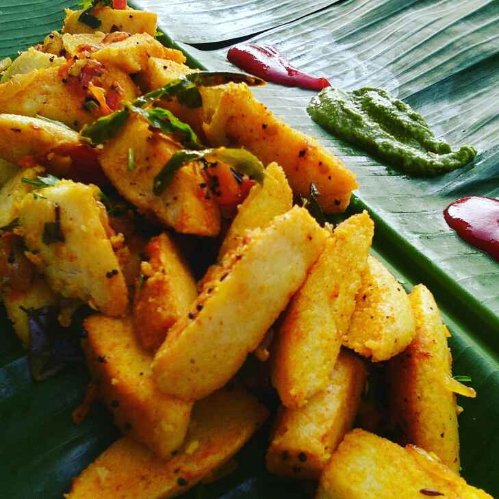 Photo of Fry idli by Abhilasha Gupta at BetterButter