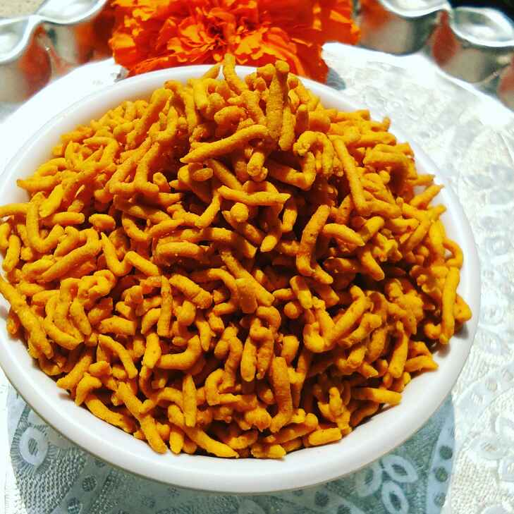 How to make Besan spicy sev