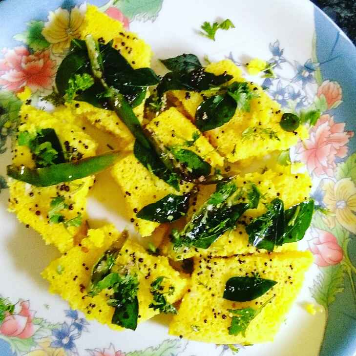How to make Instant besan dhokla
