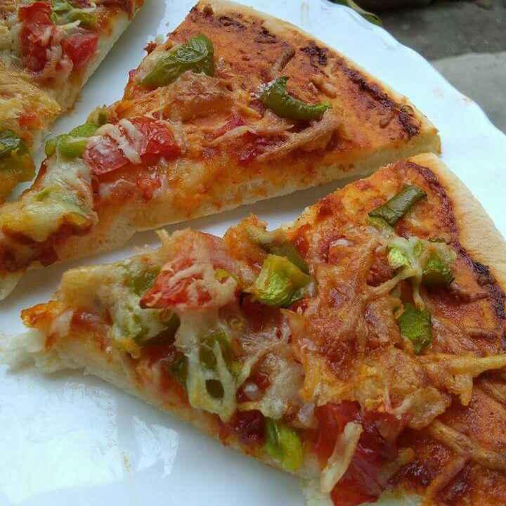 Photo of Veg pizza by Abhilasha Gupta at BetterButter