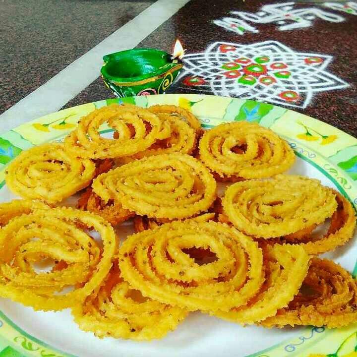 How to make Chakli / chakri / murukku