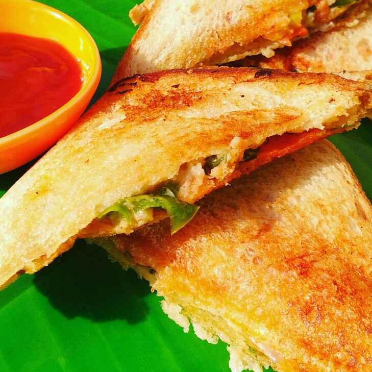Photo of Veg sandwich by Abhilasha Gupta at BetterButter