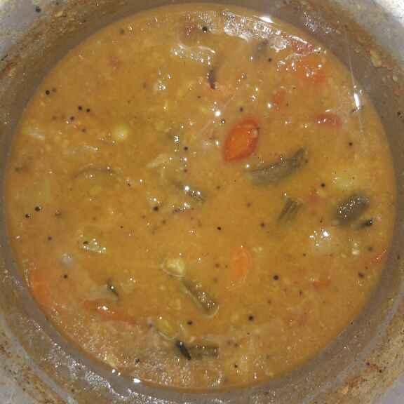 Photo of Thattaiparuppu sambar by ஜெயசித்ரா ஜெயகுமார் at BetterButter